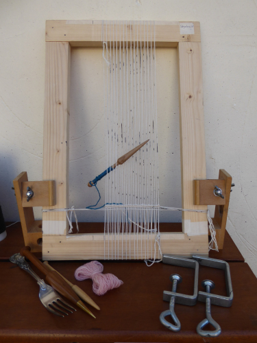 Basic tools for tapestry weaving