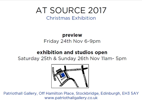 At Source exhibition flyer