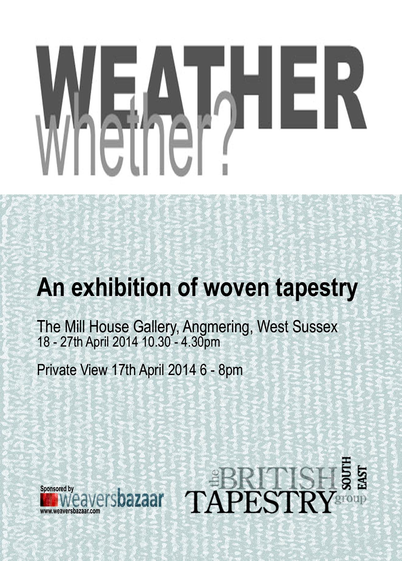 Weather whether? exhibition in Angmering