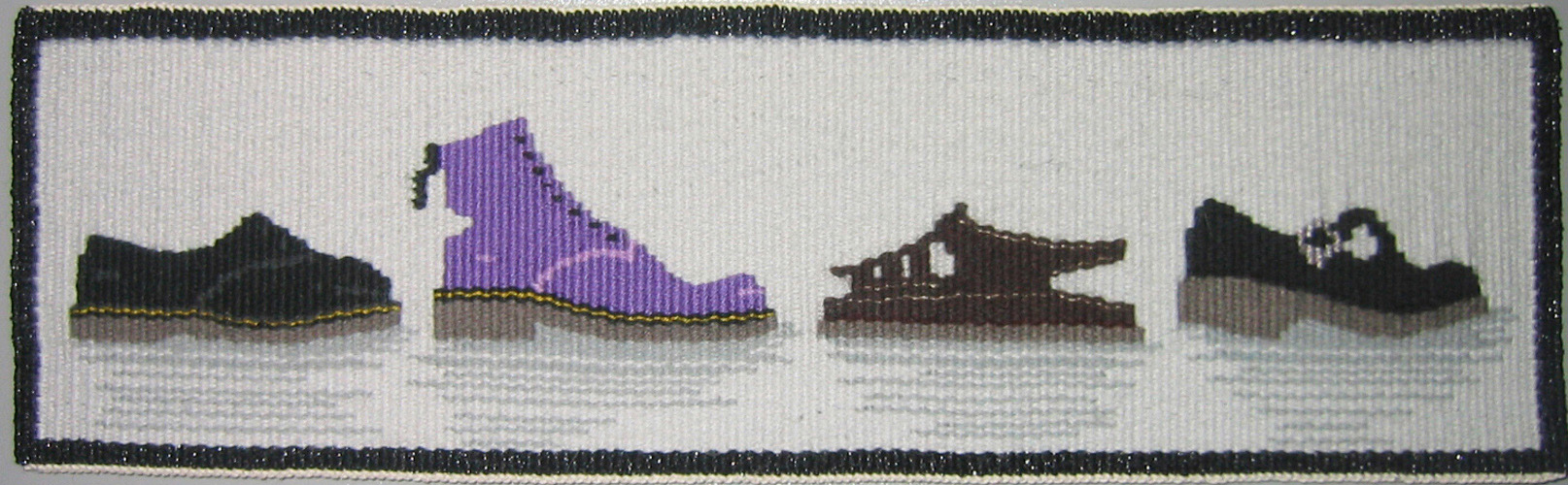 'THIS GOES WITH THAT' - SHOES, 10 x 34 cm, 2004